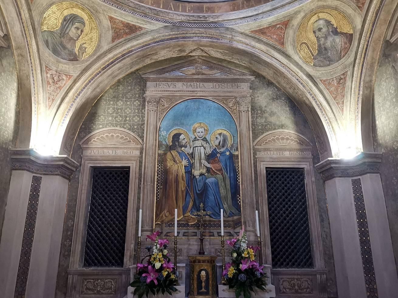 Affreschi santa maria infraportas