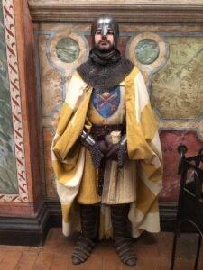 Marco Della Torre in veste di figurante