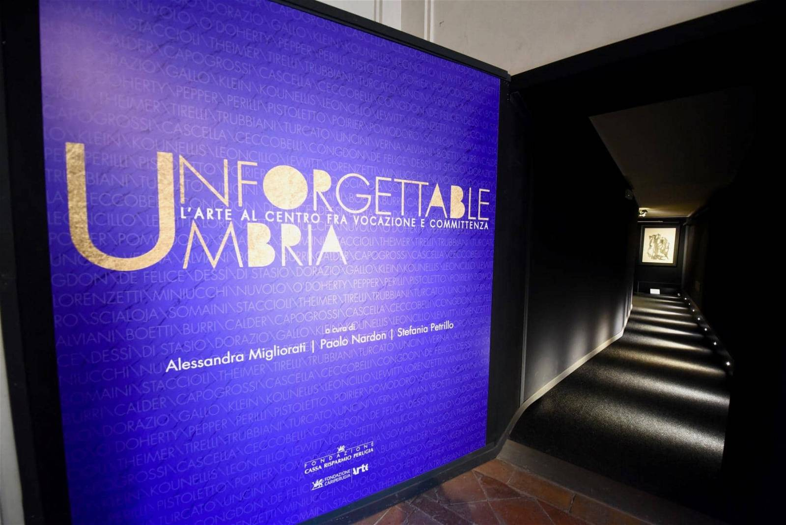 "Ingresso mostra ""Unforgettable Umbria"""