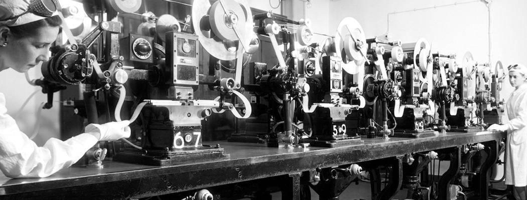 Fabbrica italiana di pellicole per il grande cinema e la fotografia