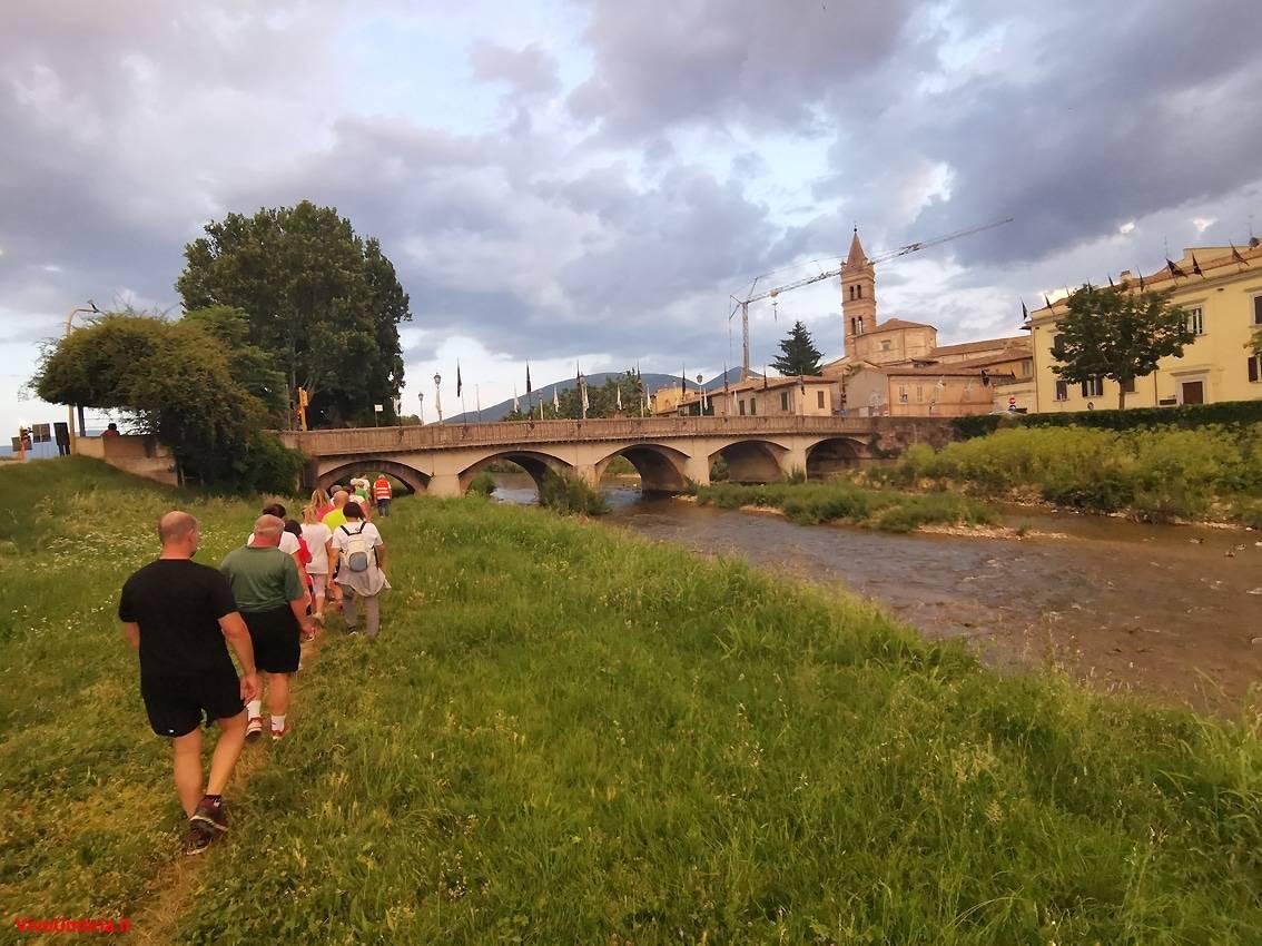 """I partecipanti a """"Foligno Cammina – Scopri la Città """""""