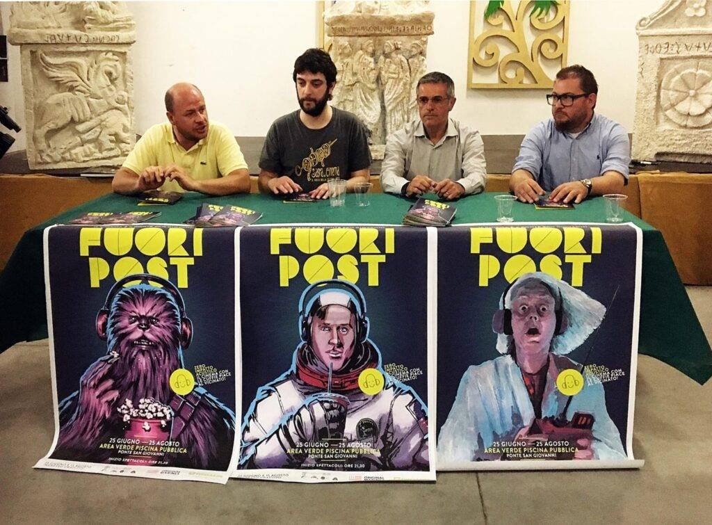 Conferenza stampa FuoriPost
