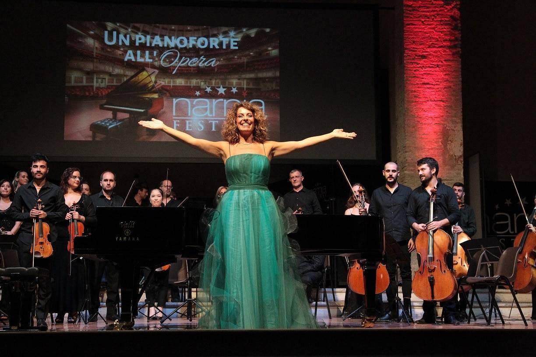 Cristiana Pegoraro al Narnia Festival