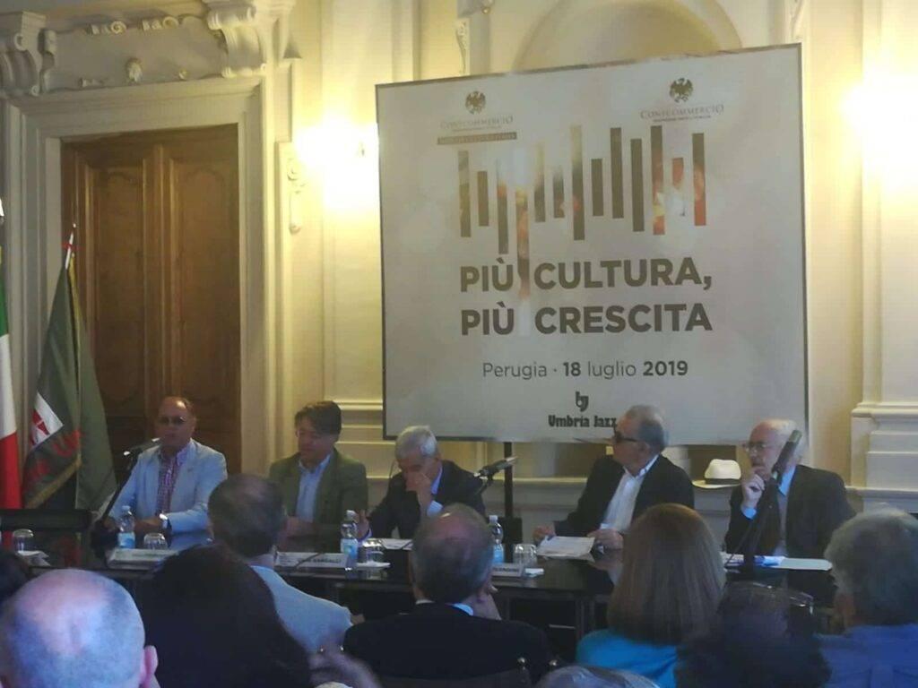 Convegno Confcommercio e Impresa Cultura Italia in Regione