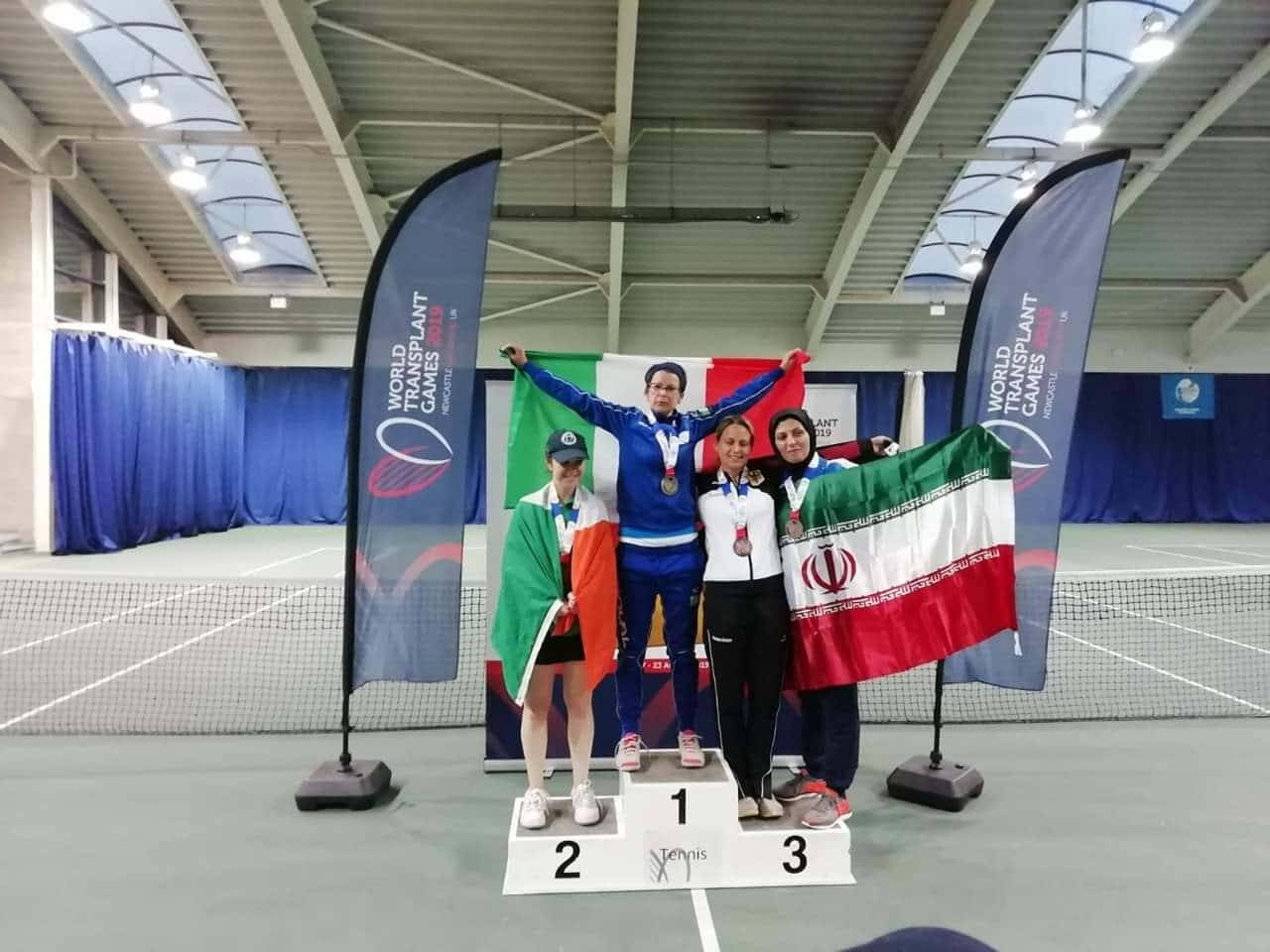 Marta Nizzo tra l'oro conquistato nel tennis ed il trapianto di rene