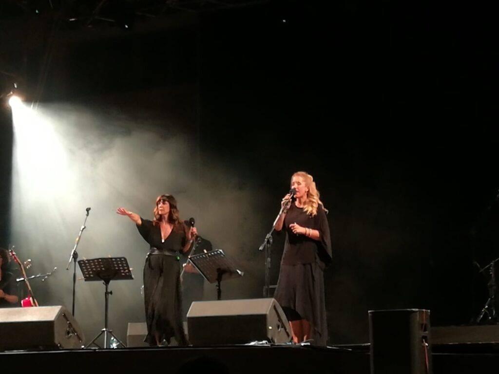 Cristina Donà e Ginevra Di Marco al River Rock Festival