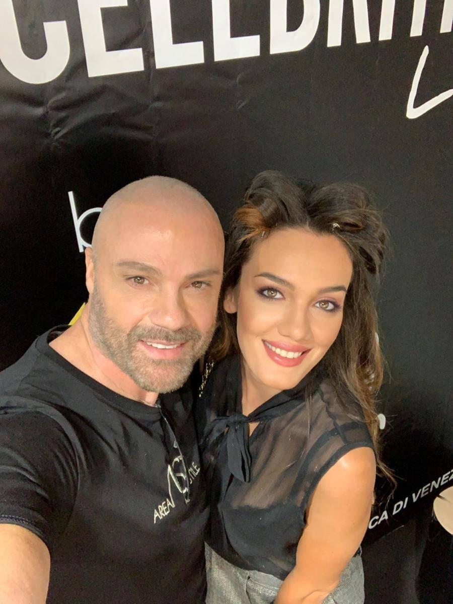 Il make-up artist Graziano Giammaroni alla Mostra del Cinema di Venezia