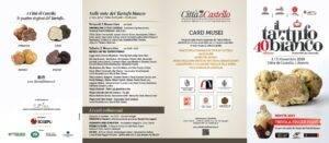 Mostra del Tartufo bianco di Città di Castello, anteprima a Fico a Bologna