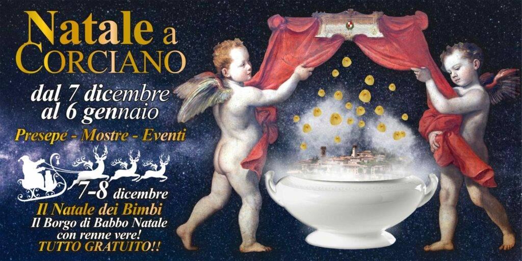 Corciano, molte novità per l'edizione 2019 di Natale a Corciano