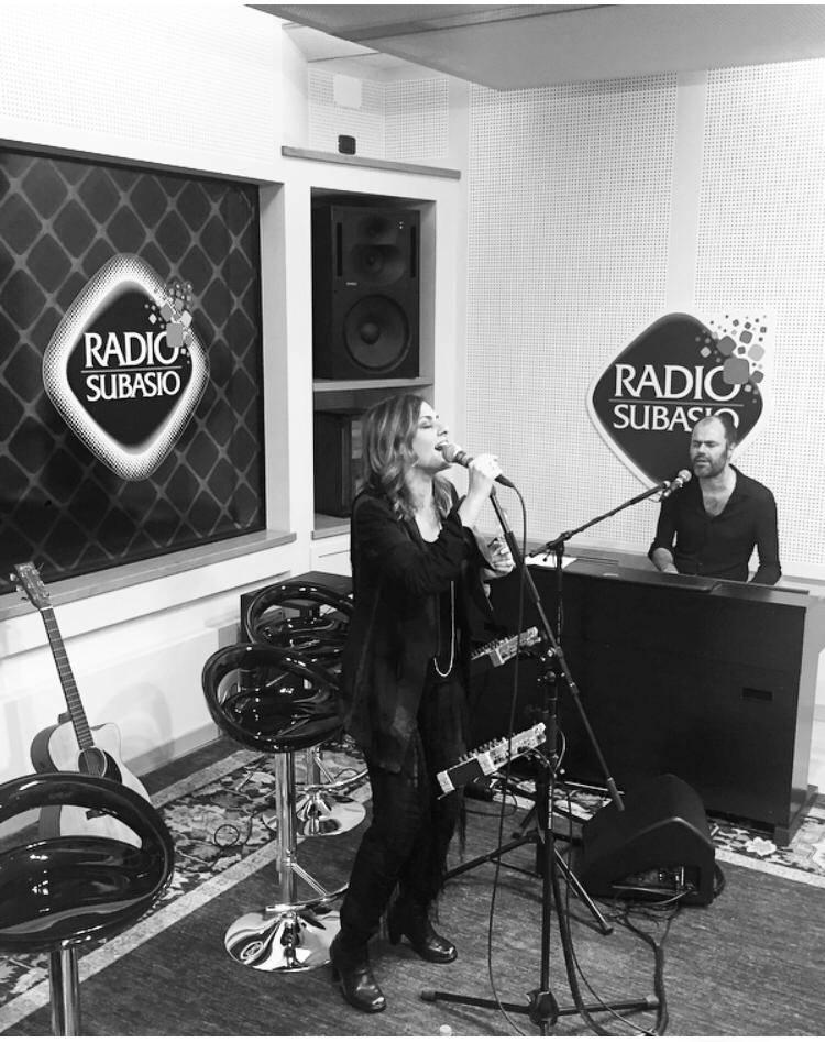 Irene Grandi a radio Subasio