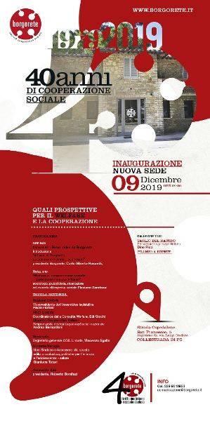 locandina convegno Prospettive per il welfare e la cooperazione sociale in Umbria