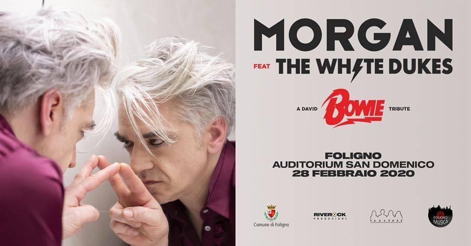 locandina concerto A Bowie Tribute a Foligno
