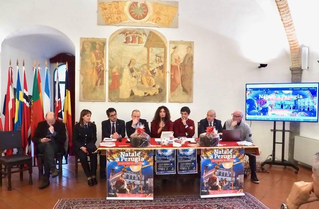 """Presentato il Natale a Perugia 2019 """"A riveder le stelle"""""""