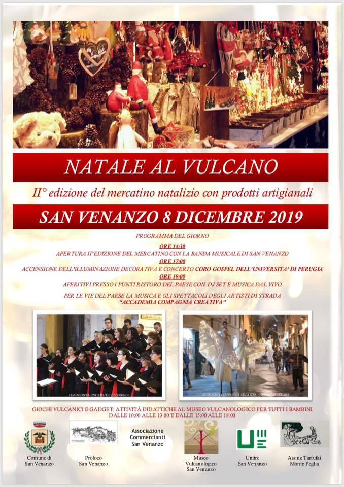 """San Venanzo, torna l'appuntamento con il """"Natale al Vulcano"""""""