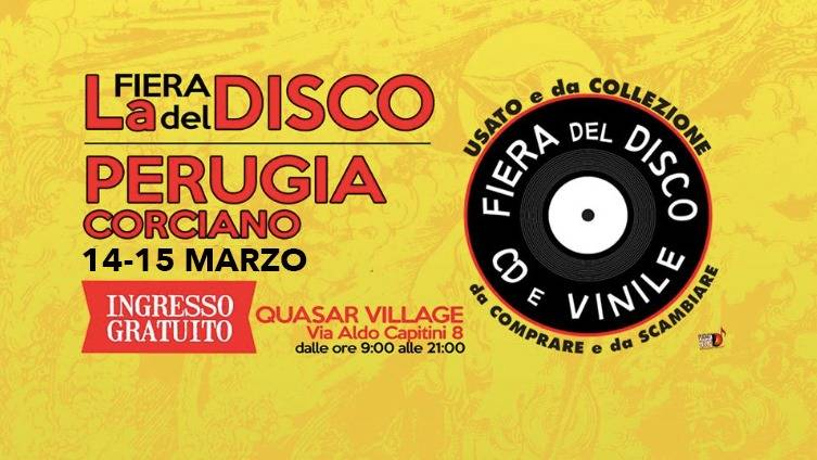 Fiera del disco Perugia 2020