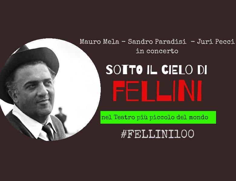 locandina Sotto il cielo di Fellini