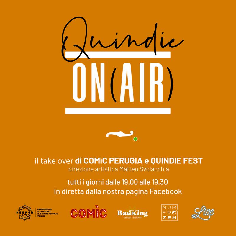 locandina Quindie On Air