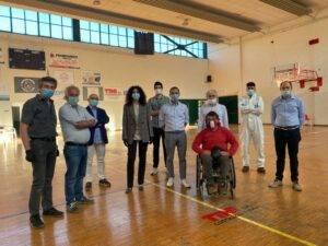 Perugia, sanificata la palestra di Sant'Erminio, riprende l'attività sportiva anche per i disabili