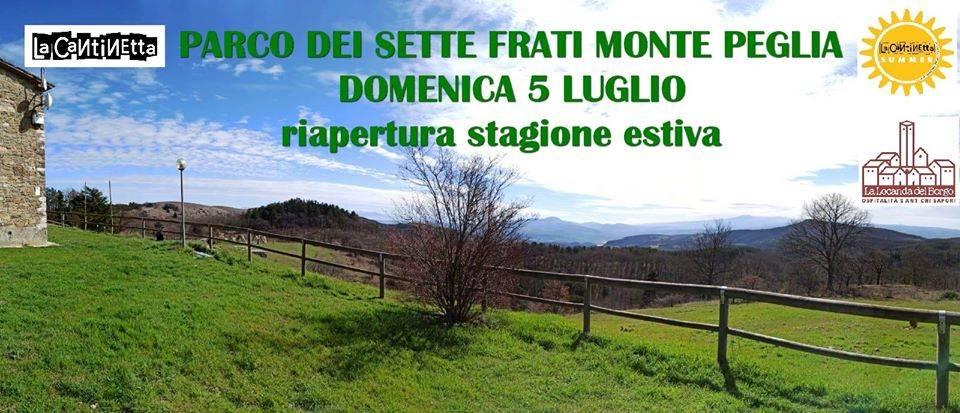 Monte Peglia, cibo, musica e relax al parco dei Sette Frati con la Cantinetta Summer