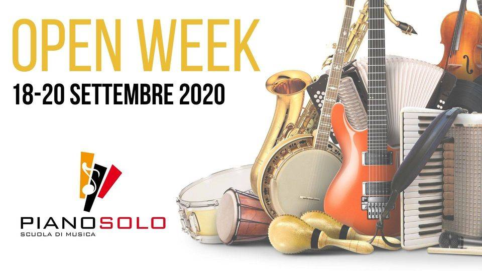 locandina Open Week 2020