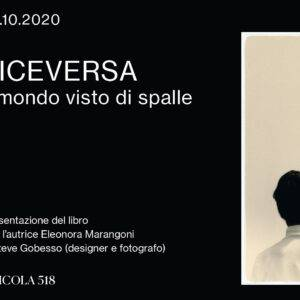 locandina presentazione VICEVERSA Il mondo visto di spalle