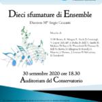 locandina Dieci sfumature di Ensemble
