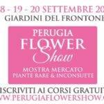 Perugia Flower Show locandina 2020