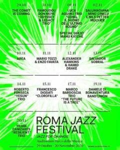 roma jazz festival 2020 loc programma