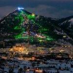 Accensione Albero di Natale più Grande del Mondo