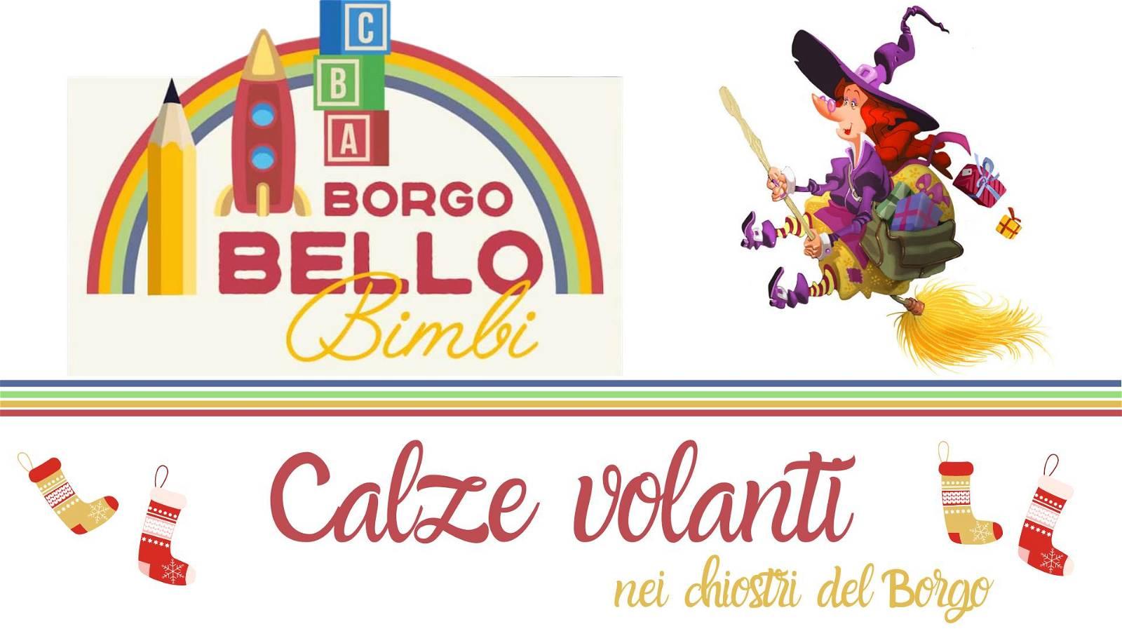 Calze Volanti nei chiostri di Borgo Bello