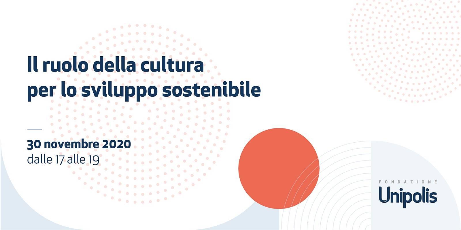 Il ruolo della cultura per lo sviluppo sostenibile