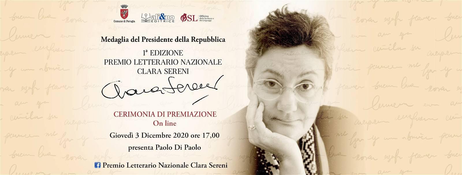Premiazione Premio Letterario Nazionale Clara Sereni – Prima edizione