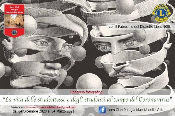Lions Club Perugia Maestà delle Volte: indetto un concorso fotografico sul Covid