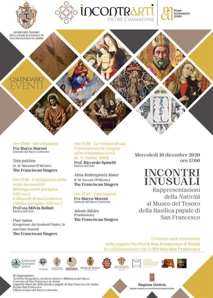 Incontri inusuali: rappresentazioni della Natività al Museo del Tesoro della Basilica papale di San Francesco