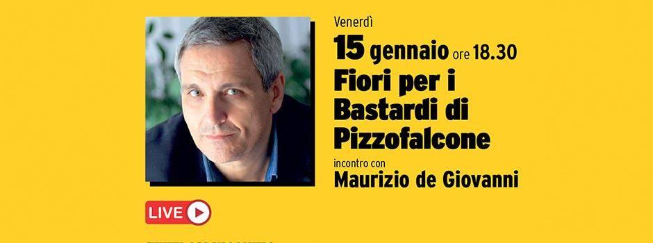 """presentazione del libro """"Fiori per i Bastardi di Pizzofalcone"""""""