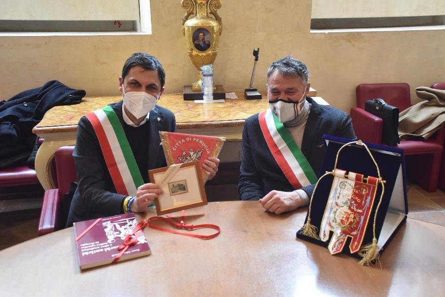 Presentazione Giro d'Italia in Umbria 2021