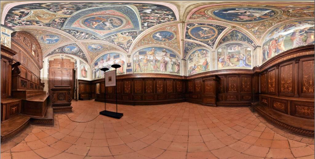 progetto di digitalizzazione per la conservazione preventiva e programmata dei beni artistici del Nobile Collegio del Cambio