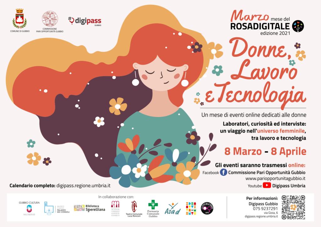 locandina Rosa Digitale Festa della donna