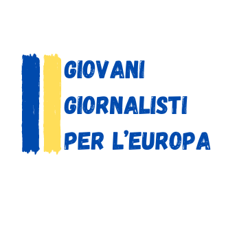 logo giovani giornalisti per l'Europa