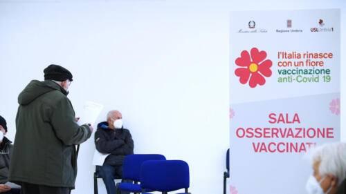 Foto Regione Umbria - Inizio campagna vaccinale over 80 (12)