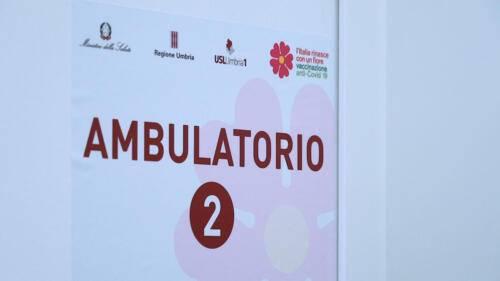 Foto Regione Umbria - Inizio campagna vaccinale over 80 (6)